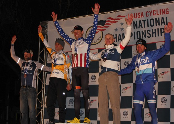 Mike Yozell 2015 CX Nationals Cyclcocross Lamprey Systems